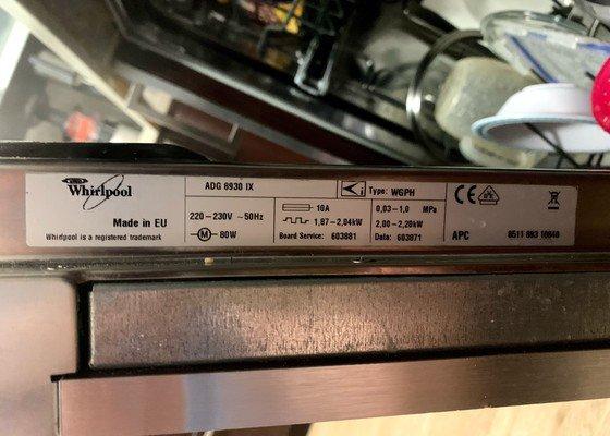 Oprava myčky Whirlpool ADG 8930 IX