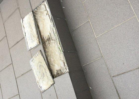 Oprava dlažby na venkovním balkóně