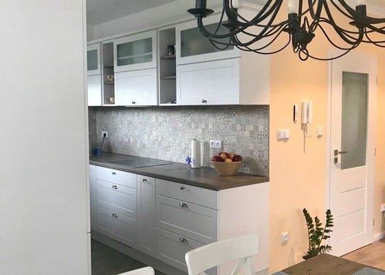 Návrh interiéru novostavby RD a vizualizaci od bytového designera