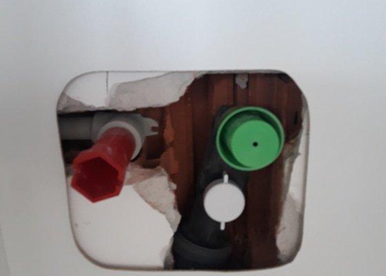 Připojení myčky a dřezu