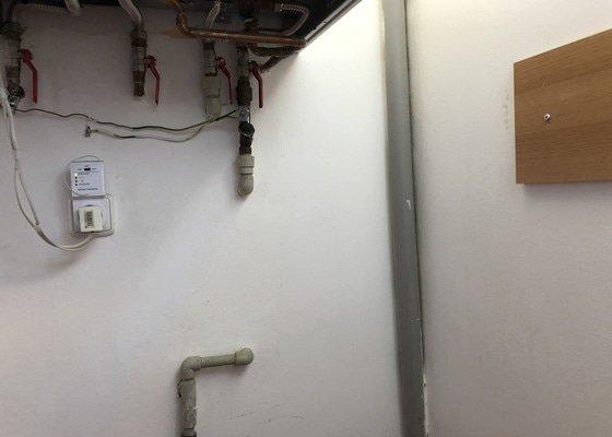 Vývod vody na terasu, instalace nezámrzného ventilu (Kemper)