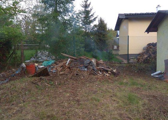 Vyklízení chaty a pozemku