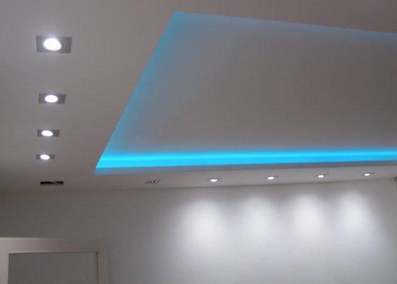 ložnice - podhled s LED osvětlením