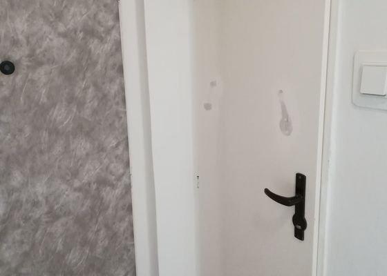 Lakovanie zárubní (7x) + lakovanie dverí (2x)