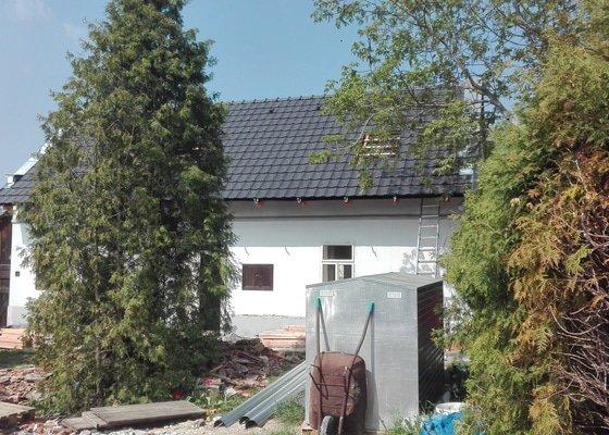 Nová střecha RD