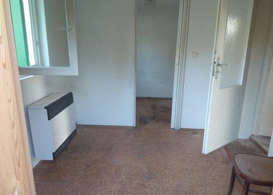Chata - rekonstrukce podlahy