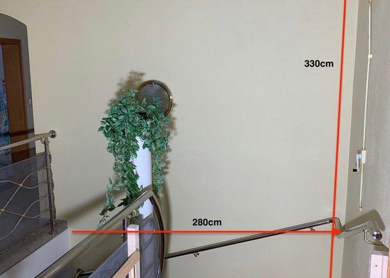 Oprava štukování + vymalování světlíku