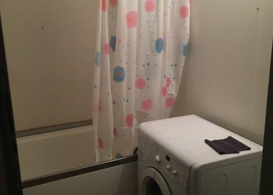 Rekonstrukce koupelny - předělání umakartového jádra v bytě 1+1