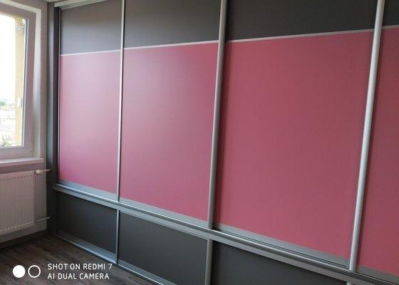 Zhotovení vestavěné skříně do dětského pokoje