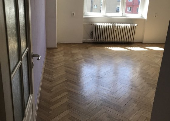 Vymalování bytu 3 pokoje + předsíň