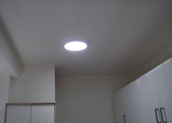 Silnoproud, LED osvětlení, pokládaní dlažby a laminátové podlahy