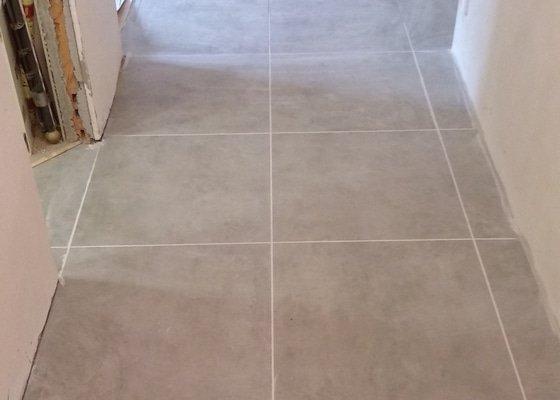 Zednické práce a nová podlaha