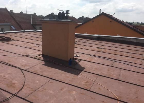 Natřít plechovou střechu cca 10x10 m