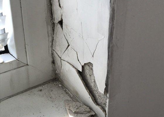 Oprava stěn v okolí oken