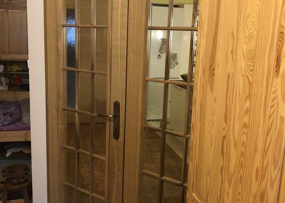 Masivní dubové dveře 7ks