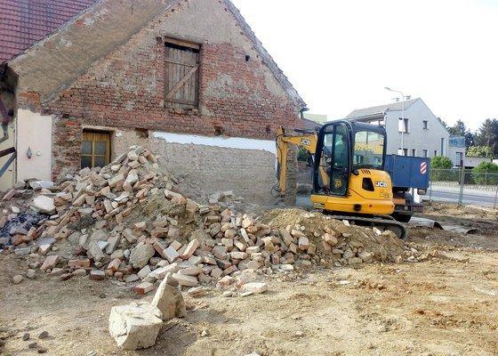 Zbourání domu Chválenice (cca 80m2)