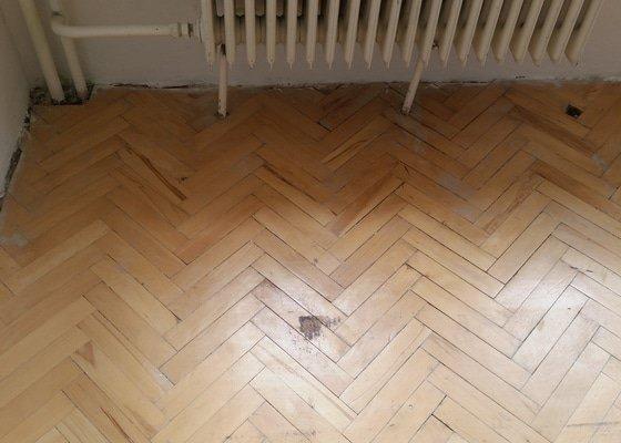 Renovace podlahy - parkety (1 místnost)