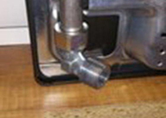 Připojení plynové varné desky