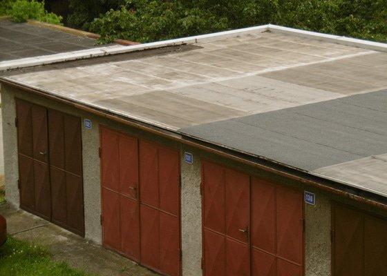 Oprava střechy a vjezdu garáže