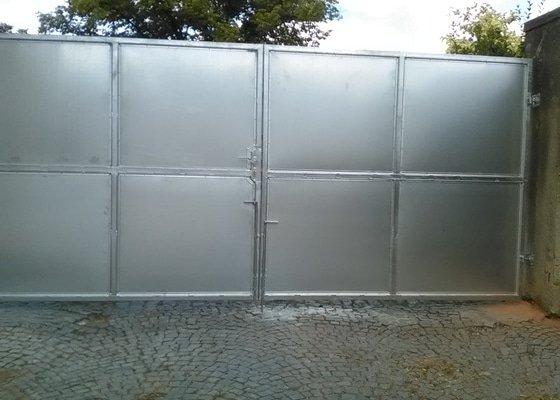 Vjezdová vrata - klasická