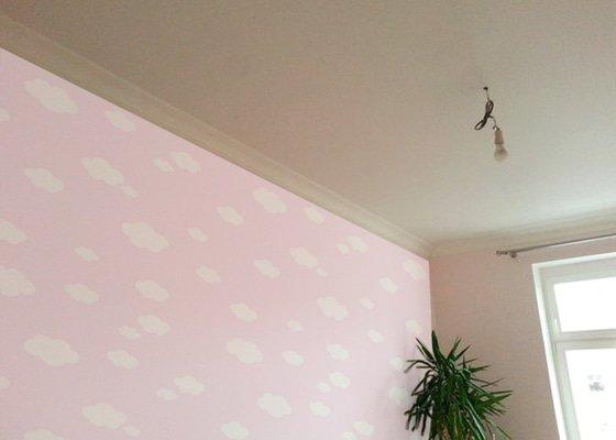 Malovani a tapetovani detskeho pokoje