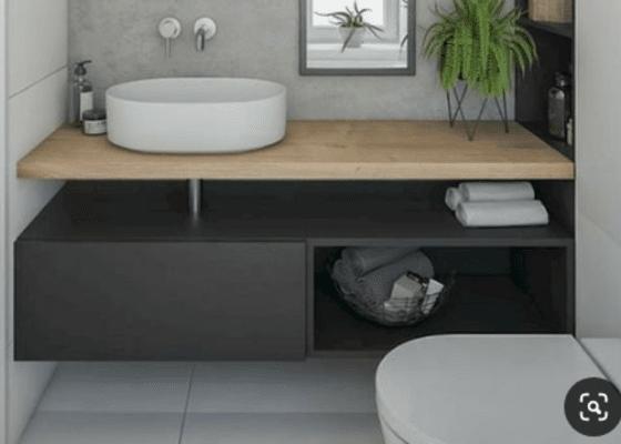 Nábytek na míru - koupelnová skříňka