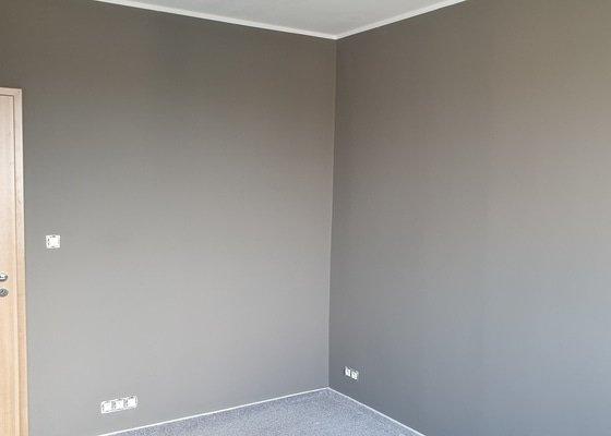 Výmalba ložnice,odstranění plísně a nanesení protiplísňového nátěru