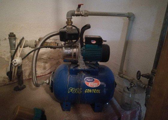 Čištění studny, výměna čerpadla