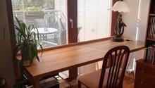 Vyrobit dřevený pracovni stůl na míru