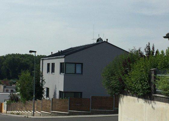 Oprava falcované plechové střechy