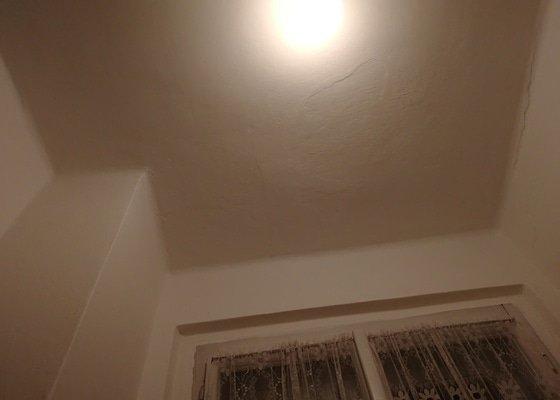 Obložení stropu  koupelny sádrokartonem