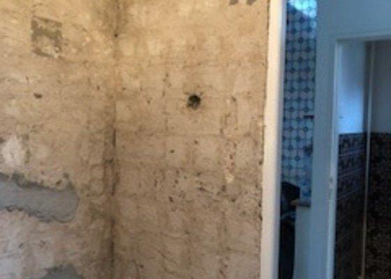 Obložení koupelny-zednické práce