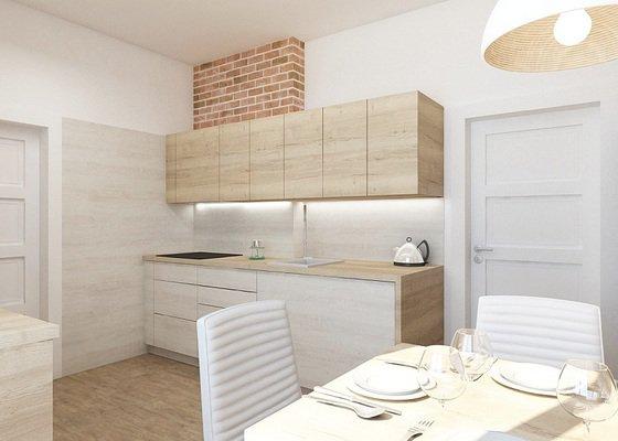 Rekonstrukce kuchyně (starý rodinný dům)