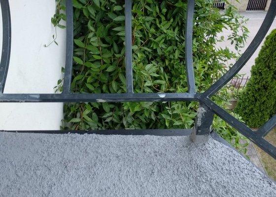 Hydroizolace dvou balkonu, malovani sten v rodinnem domu