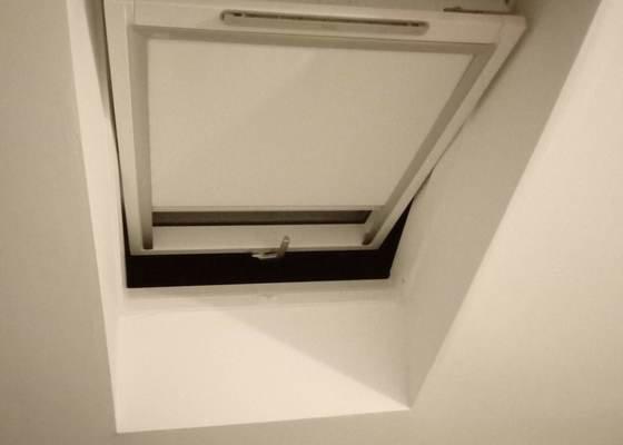 Výměna střešního okna, dodání nového.
