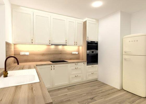 Vizualizace a realizace kuchyně