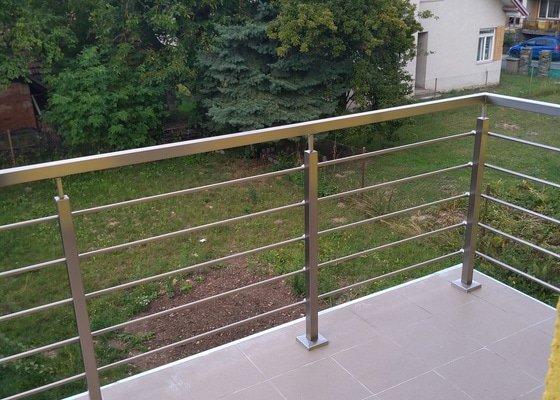 Zhotovení a montáž zábradlí na balkon