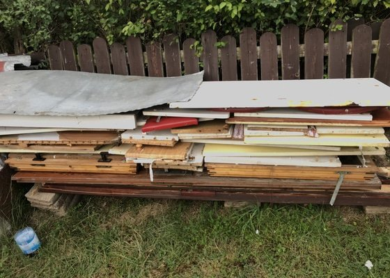 Odvoz starého vybavení chaty