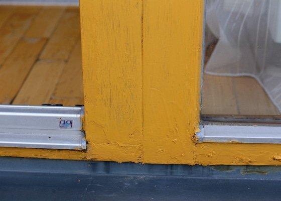 Oprava laku francouzského okna