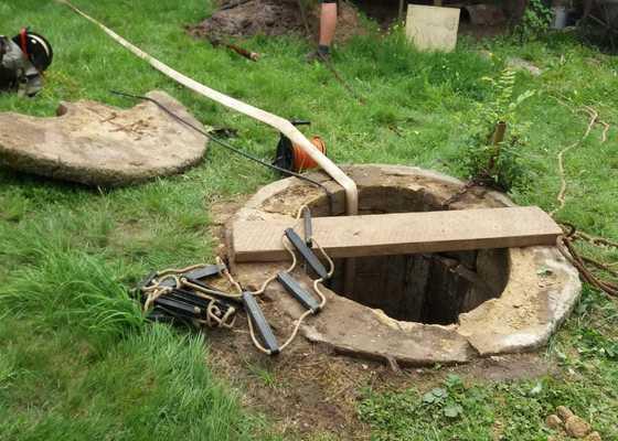 Vyčistit studnu