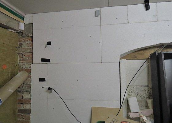 Montáž sádrokartonů v dílně