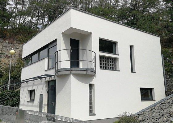 Zhotovení stěrky a fasády