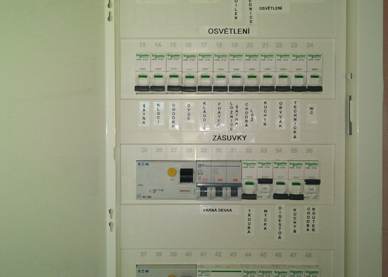 Elektroinstalace v domě