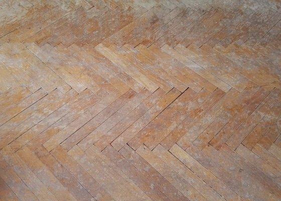 Renovace parketové podlahy