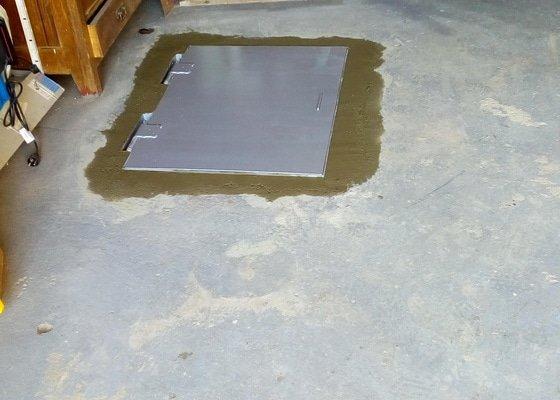 Oprava zakrytí vodovodní šachty
