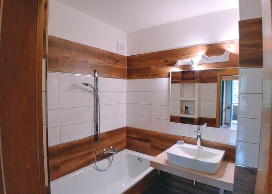 Celková rekonstrukce koupelny (4,8m2) a wc (1,4m2)