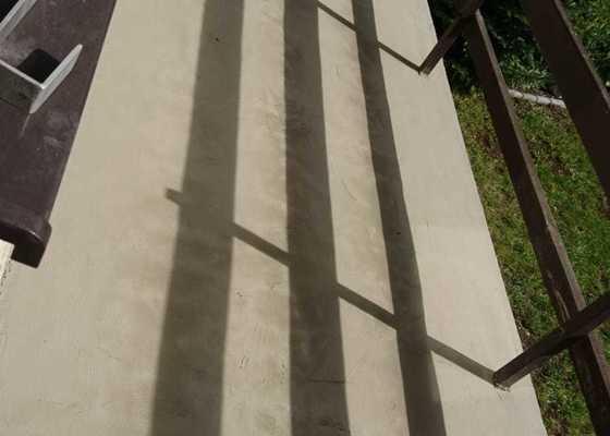 Zedník - oprava balkonu