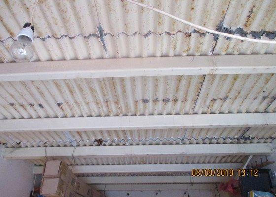 Oprava střechy garáže v Liberci