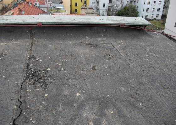 Hydrizolace ploché střechy Brno Jiráskova