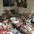 Obývací pokoj před vyklizením